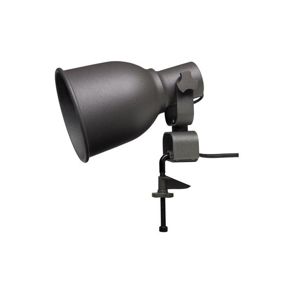 IKEA HEKTAR Wall/Clamp Spotlight – Dark Gray