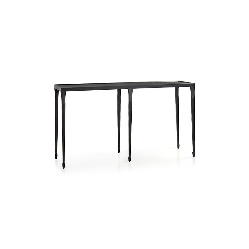 Silviano Iron Console Table by Crate and Barrel Dwell