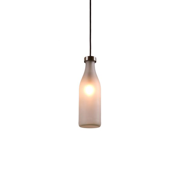 Droog Milk Bottle Single Lamp