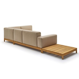 Varaschin Barcode Sectional Sofa With Left Side Coffee Table