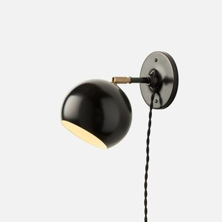 Schoolhouse Electric Isaac Plug-In Sconce - Short Arm