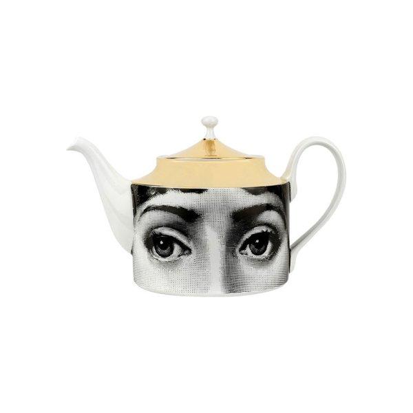 Fornasetti Face Print Teapot