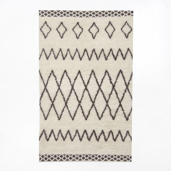 West Elm Kasbah Wool Rug – Ivory