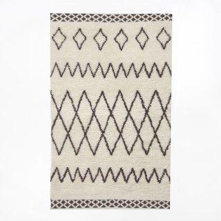 West Elm Kasbah Wool Rug – Ivory