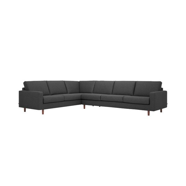 Beau EQ3 Oskar 2 Piece Sectional Sofa U2013 Fabric