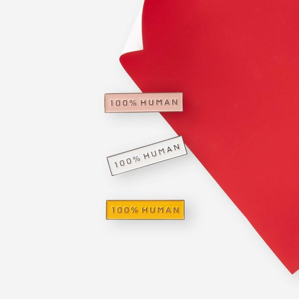 Everlane 100% Human Pin (3-Pack)