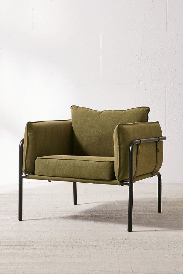 Photo 1 of 1 in Howell Canvas Arm Chair
