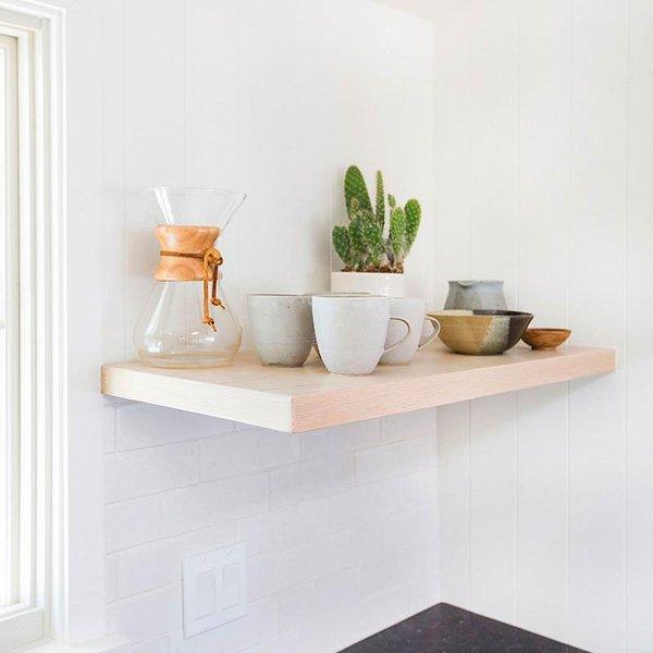 Semihandmade Floating Shelves