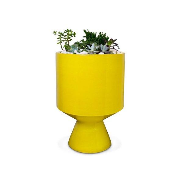 Jonathan Adler Yellow Okura Planter