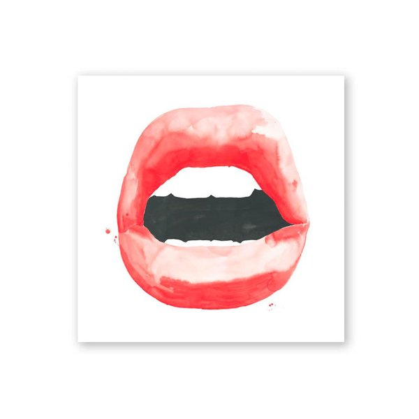 Lips Series Print by Jessica Rowe
