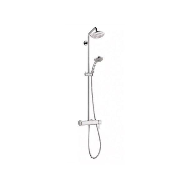 Hansgrohe Croma Pressure Balance Showerpipe