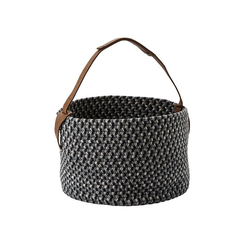Gloster Basket with Leather Handle