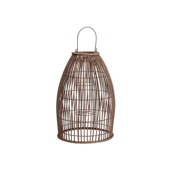 Pottery Barn Careyes All-Weather Outdoor Wicker Lantern – Large