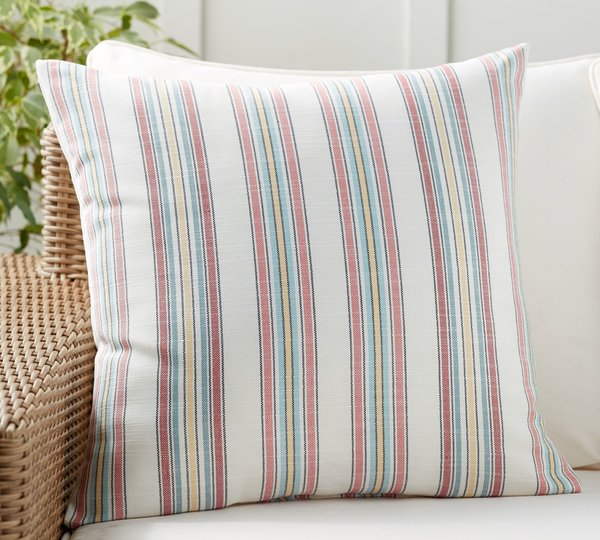 Pottery Barn Lance Multi Stripe Indoor/Outdoor Pillow