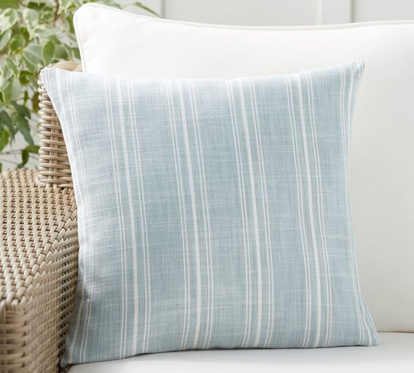 Pottery Barn Henderson Stripe Indoor/Outdoor Pillow