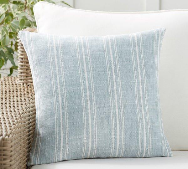 Pottery Barn Henderson Stripe Indoor/Outdoor Pillow