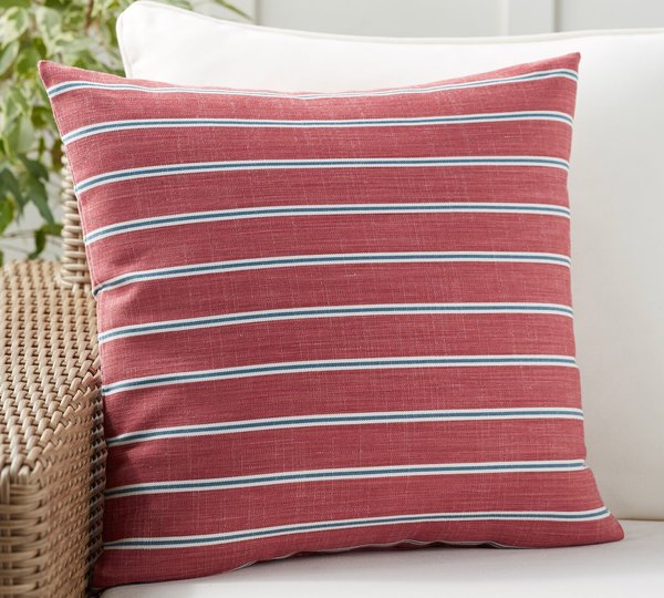 Pottery Barn Bradford Stripe Indoor/Outdoor Pillow