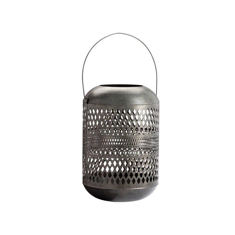 Pottery Barn Pierce Zinc Lantern – Extra Large