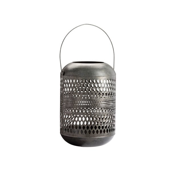 Pottery Barn Pierce Zinc Lantern – Extra Large