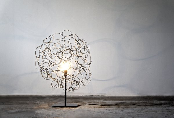 The Roommate lamp, designed by Ayoko Aratani.
