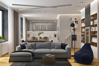 Contemporary Apartment In Moscow