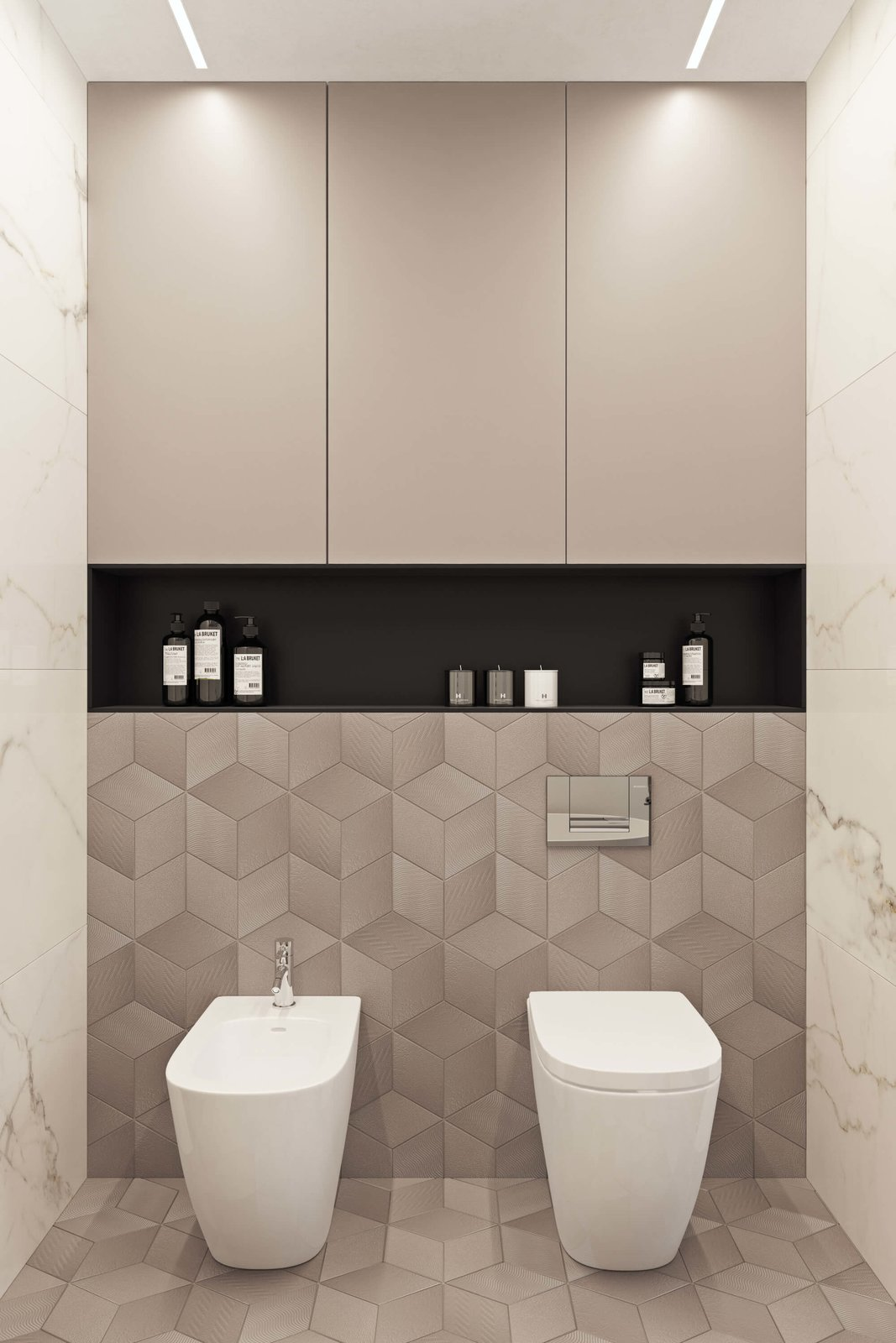 Bath Room  Contemporary Eco-Style Apartment