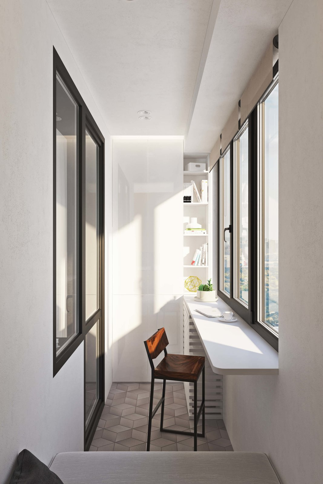 Windows  Contemporary Eco-Style Apartment