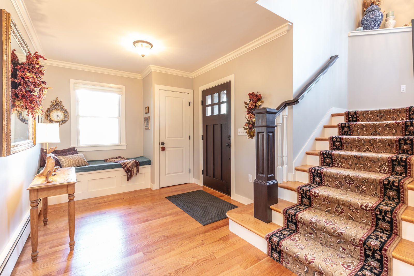 Hallway  Shingle Style Rustic Chic