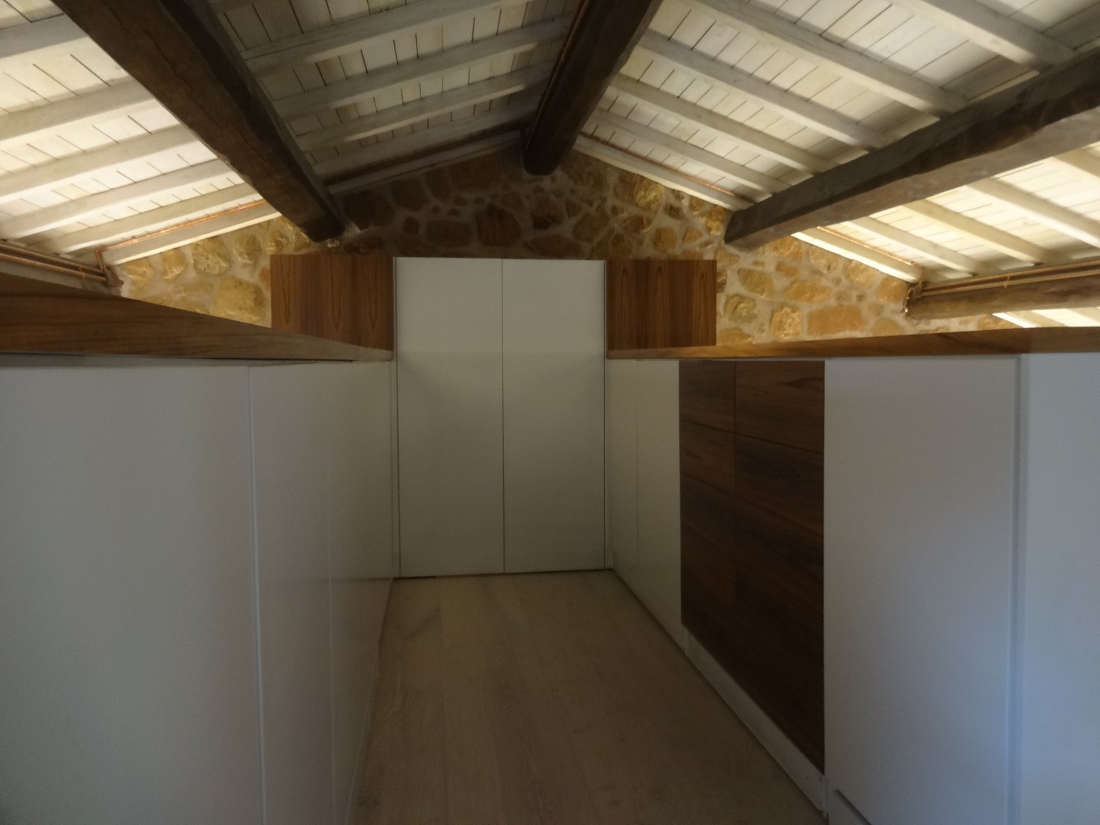 Storage Room, Closet Storage Type, and Cabinet Storage Type  CAFElab architects turns an old farmhouse into a luxury residence in Rome