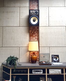 Exposed brick and a 1970s sound system add to Proud Mary's homey vibe.