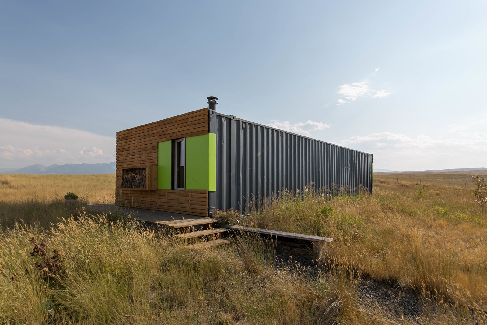 This Awesome Shipping Container Home Can Be Yours For