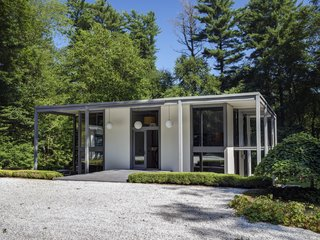 A Showstopping Midcentury in New Canaan Hits the Market - Photo 1 of 12 -