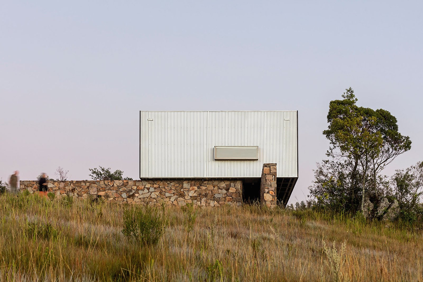 Exterior, Metal Siding Material, Prefab Building Type, and House Building Type  Photo 11 of 16 in A Remote Prefab in Uruguay Is Completely Self-Sufficient