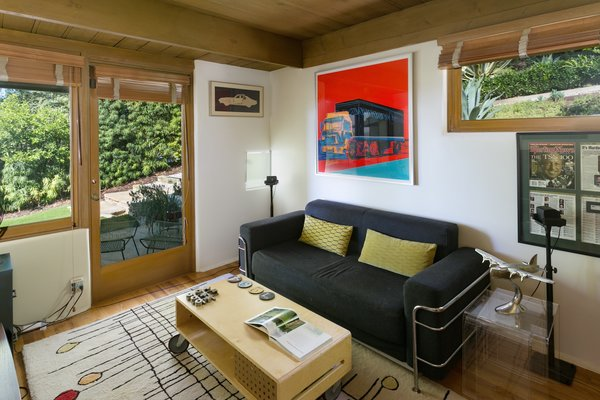 Medium Hardwood Floor  Photo 3 of 17 in A Midcentury Schindler Gem With a Writer's Studio Asks $2.3M