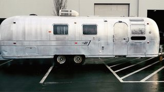 A Couple Transform a Vintage Airstream Into a Scandinavian-Inspired Tiny Home - Photo 2 of 17 -