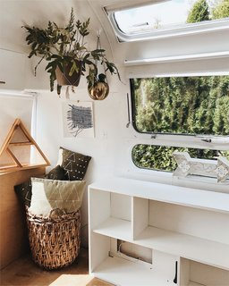 A Couple Transform a Vintage Airstream Into a Scandinavian-Inspired Tiny Home - Photo 12 of 17 -