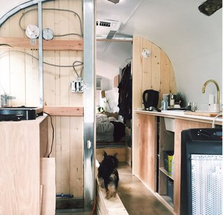 A Couple Transform a Vintage Airstream Into a Scandinavian-Inspired Tiny Home - Photo 13 of 17 -