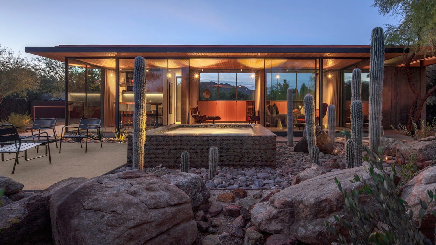An Old Horse Barn Is Repurposed As A Chic Desert