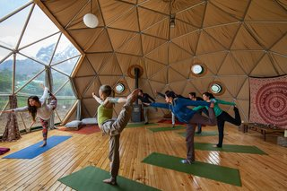 Soak Up the Magic of Patagonia at This Eco-Friendly Geodesic Dome Retreat - Photo 9 of 12 -