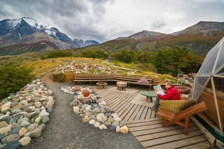 Soak Up the Magic of Patagonia at This Eco-Friendly Geodesic Dome Retreat - Photo 10 of 12 -