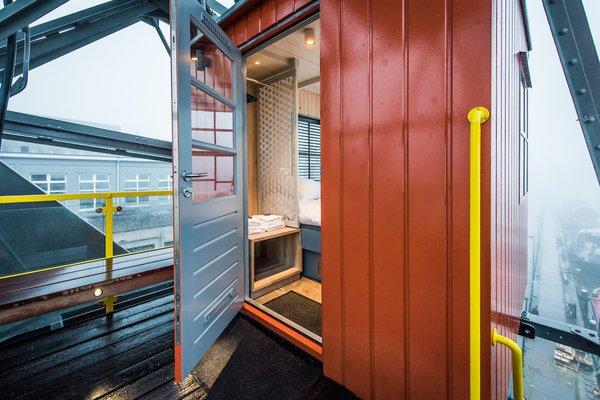 Weatherproof coating reduces slips in wet conditions.