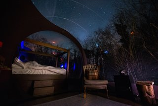 Sky views are best enjoyed January to March when visibility of the Milky Way is at its best.