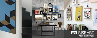 Rise Art offers art you can test drive in your home for a monthly cost.