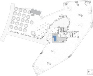 Site plan for the Soaring Rock.