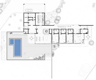 First floor plan for the Soaring Rock.