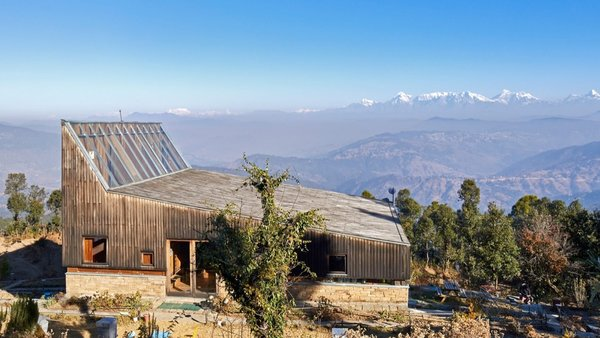 Experience Boundless Himalayan Views in This Modern Mountain Retreat