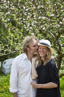 Here are the Stedsans in the Woods founders, Flemming Hansen and Mette Helbæk.