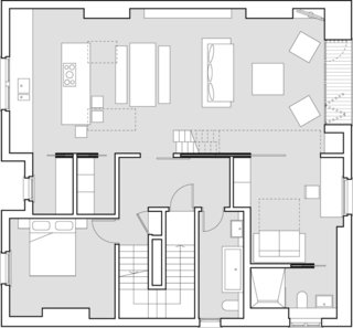 Here is the lower-level floor plan.