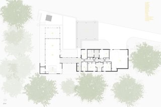 A look at the Trull Residence floor plan.