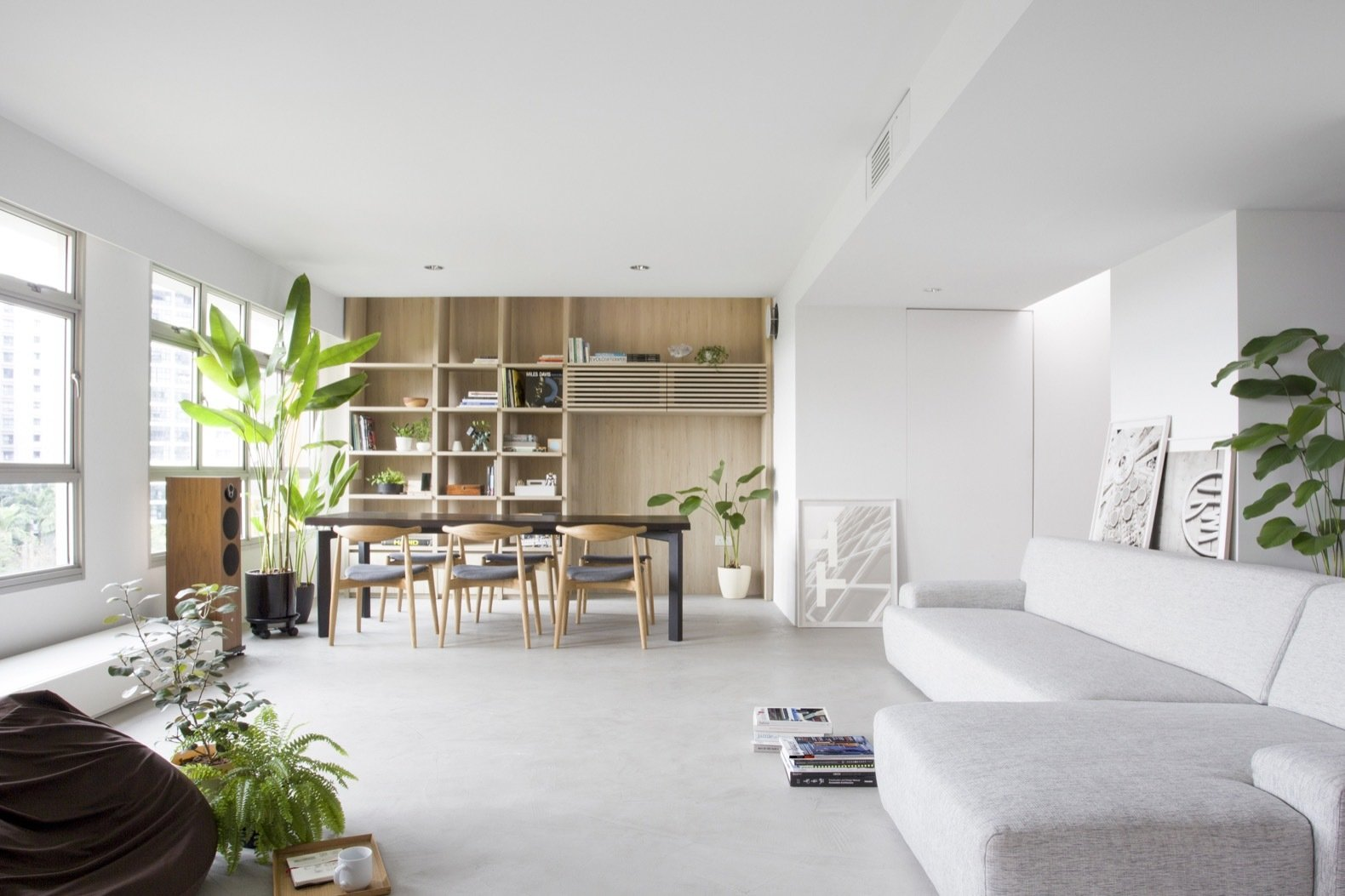 A Japanese-Inspired Flat in Singapore Embraces Flexible Spaces - Dwell